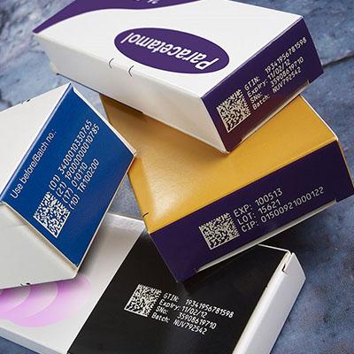 Pharma traceability batch code