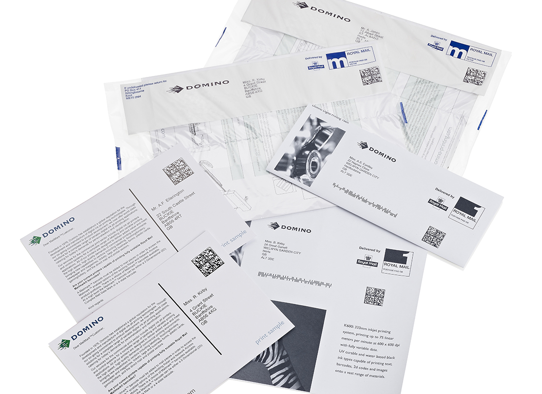 Variable data printing - mailing