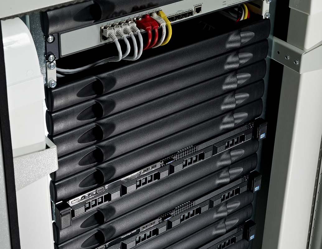 Editor RIP - rack mounted blades