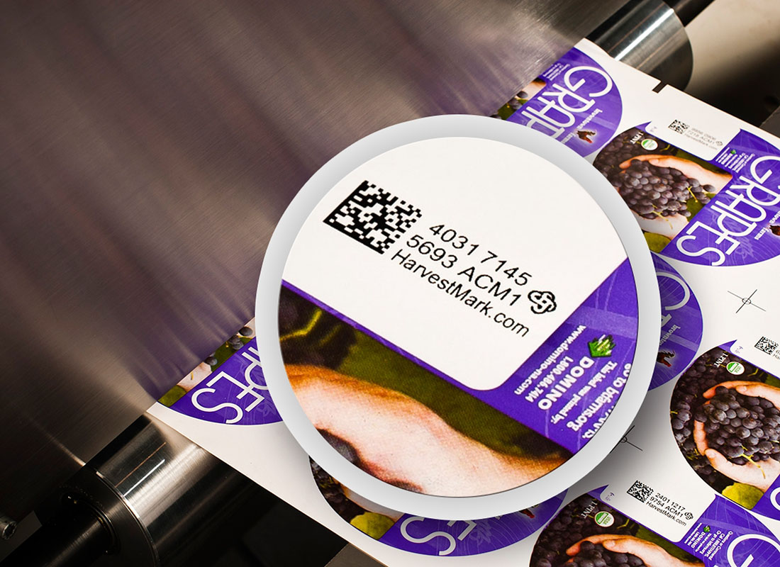 Variable data printing - labels