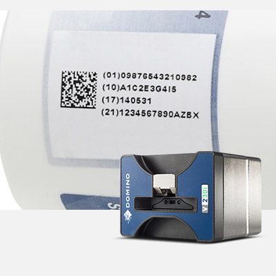 Thermal transfer overprinting (TTO) data matrix code on outer case packaging