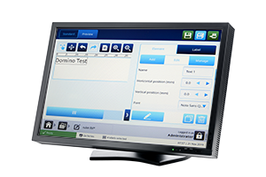 Domino Gx150i QuickStep PC User interface